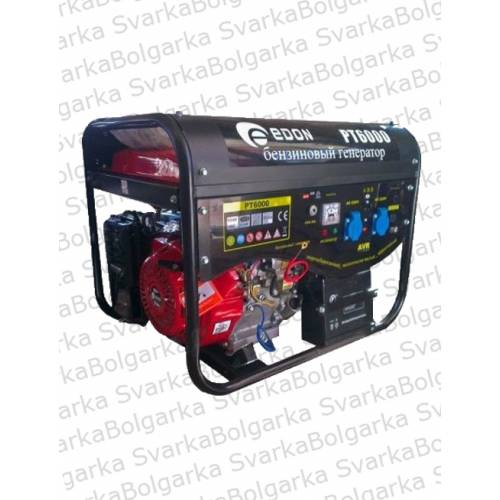 Бензиновый генератор Эдон РТ- 6000