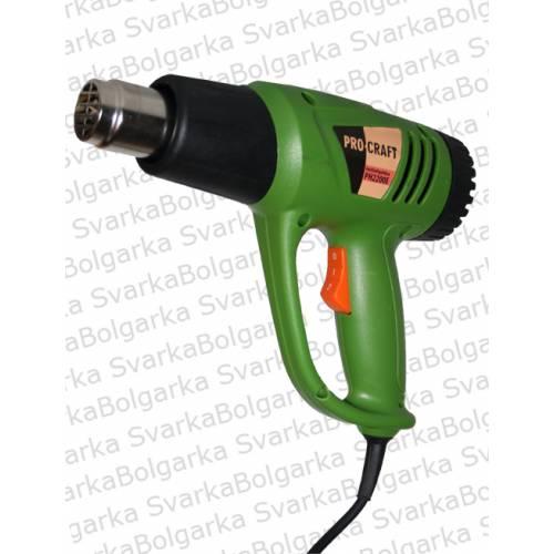 Фен промышленный PROCRAFT 2200E