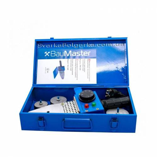 Паяльник для пластиковых труб BauMaster TW-7220