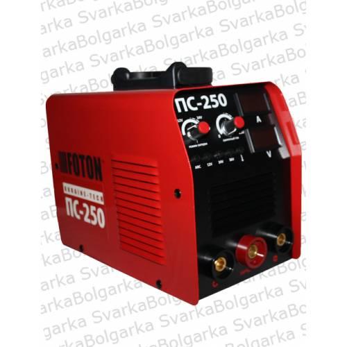 Сварочный инвертор  FOTON ПC-250 c пускозарядным устройством